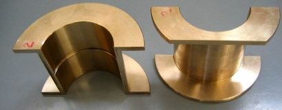 Split Bronze Sleeve Bearings