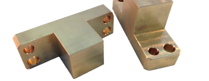 Machined Bronze Guide Blocks